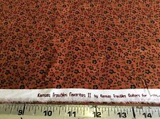 KANSAS TROUBLES FAVORITES II #9417-17-MANGO FOR MODA-BY THE YARD