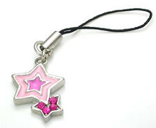 Pink/Pink Star Wholesale Cell Phone Charms