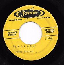 A D V A N C E - P R E S S I N G  * 45 * JACKY NOGUEZ * Amapola * 1960 #63 *JAMIE