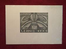 Druck, Bahlsen, Leibniz-Keks, Firmenplakat