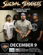 SUICIDAL TENDENCIES / TRASH TALK 2014 SALT LAKE CONCERT TOUR POSTER-Metal Music
