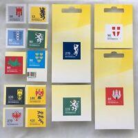 Österreich 2018 Neuheit Freimarkenserie Heraldik II Wappen der Bundesländer
