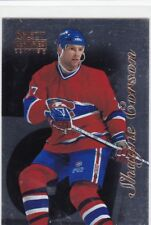 MINT 1996-97 SELECT CERTIFIED SILVER INSERT #73 SHAYNE CORSON MONTREAL CANADIENS