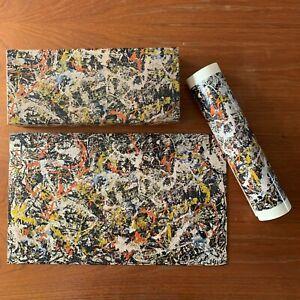 Vintage Jackson Pollock CONVERGENCE Springbok 340 Pc Jigsaw Puzzle with Poster