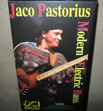 JACO PASTORIUS Modern Electric Bass VHS Instructional Video John Scofield + DVD