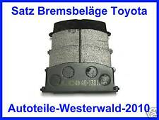 Bremsbeläge Camry Celica Cabrio T16 Corolla Paseo Starlet MR2 vorne Restbestand