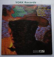RIDIN' THROUGH REPUBLIC COUNTRY - Various - Ex Double LP Record London BBC 11-12