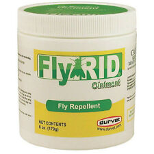 Durvet Fly Rid Ointment Fly Repellent for Dogs Ponies & Horses ONLY  6oz