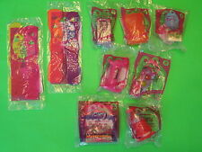 2011 McDonalds - iCarly - Complete set of 9 (BOTH #5s) *MIP*