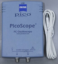 Pico Technology PicoScope 2202 20 MS/s 2 MHz 2-Channel PC USB 2.0 Oscilloscope