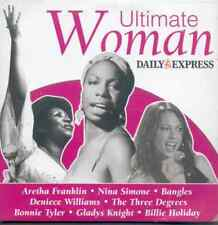 ULTIMATE WOMAN: PROMO CD - ARETHA FRANKLIN, BONNIE TYLER, BILLE HOLIDAY, BANGLES