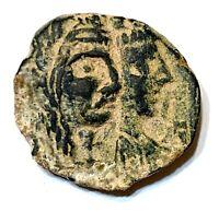 ANCIENT GREEK BROZE COIN; NABATEAN, ARETAS IV, 9 BC - 40 AD. PETRA MINT, CHOICE!