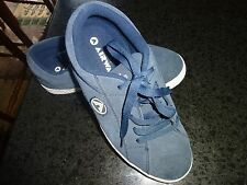 Airwalk The One Men's Skate Athletic Lace Up Shoes Sneakers Blue Suede Sz 8