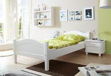 Lit 1 personne RITA 90x200 cm Blanc