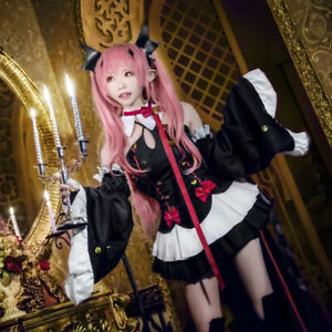 Anime Seraph Of The End Krul Tepes Cosplay Witch Vampire A Line Dress Costume
