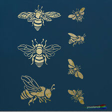 Bumble Bee Stencil, for Walls, Furniture and Art,  ST48