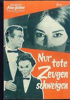"""IFB Illustrierte Film Bühne Nr. 6387 """" Nur tote Zeugen schweigen """""""