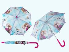 Disney Frozen Kids Childrens Umbrella Brolly Elsa Anna Olaf School Boys Girls
