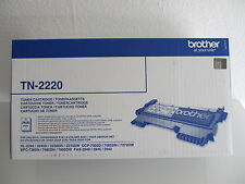 TONER ORIGINALE BROTHER tn-2220 NUOVO + OVP + IVA fax-2840 -2940 mfc-7360 - 7460dn