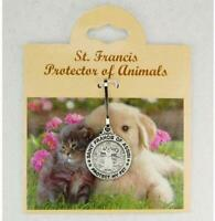 Saint Francis of Assisi Protect My Pet Medal Small
