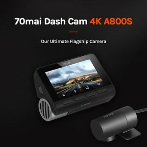 70mai A800S GPS 4K Smart Dash Cam DVR Car Video Recording Global Dashcam