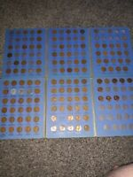 1909-1967 Lincoln Wheat Cent Collection Memorial Set Free Shipping Partial Set