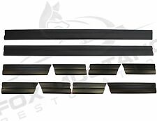 1979-84 Ford Mustang Body Side Molding Kit 10 Piece Stick-On Door Fender Quarter