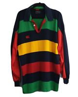 Canterbury CCC Made In Aust Rugby Style Jumper Shirt Size Men's L