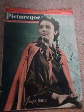 Vintage Picturegoer magazine April 1st 1944 Jennifer Jones