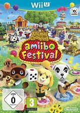 * NINTENDO Wii U * New Sealed Game Only * ANIMAL CROSSING AMIIBO FESTIVAL