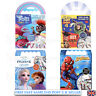 Carry Along Colouring Pad Party Activity Set Trolls Spiderman Toy Story Frozen
