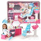 Bratz Toy - Sleepover Spa and Hair Studio Doll Playset With Real Working Sink