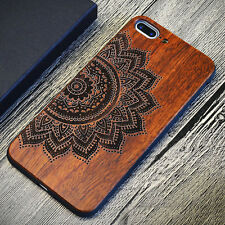 New Ultrathin Natural Wood Hard Back Case Cover For iPhone 6 6s 7 Plus 5 5s