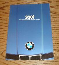 Original 1980 BMW 320i Sales Brochure 80