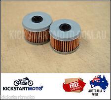 Oil Filter for Honda  TRX250 TRX300 TRX350 TRX400 TRX450 CBF250  (Twin Pack) TRX