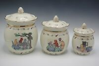 LENOX DISNEY WINNIE THE POOH THE HONEY POT CANISTER SET OF 3 2005