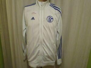 FC Schalke 04 Original Adidas Freizeit- Trainingsanzug Jacke 2011/12 Gr.M