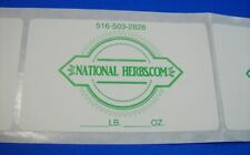 5000 Custom Printed Labels Rectangle 1 14 X 1 34 Business Stickers 1 Color