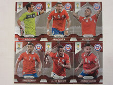 2014 Panini Prizm FIFA World Cup Soccer  Complete Base Set of Team Chile
