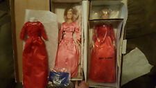 Danbury Mint Princess Diana Doll W/ Royal Collection Wardrobe 2 Dolls, Outfits