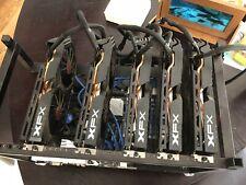5 GPU Mining Rig  Ethereum Zcash Dash. XFX, EVGA, Asus, Crucial, Pentium RX580
