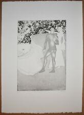 Listed British Artist Elisabeth Frink, Signed Original Etching Aquatint
