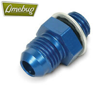 Genuine Earls Weber Blue Straight -6AN to 12x1.5mm High Pressure Hose Thread Oil