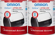 Omron 10 Series Bluetooth Digital Blood Pressure Monitor (2 Pack)