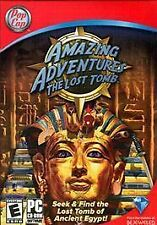 AMAZING ADVENTURES: THE LOST TOMB -( NEW )-( HIDDEN OBJECT GAME )-(PC, 2008)-...