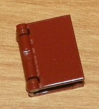 LEGO -  Minifig, Utensil Book w/ Plain Cover - Reddish Brown