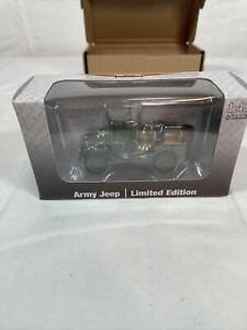 1:48 Scale Die-Cast Military Jeep - New In Box Limited Edition