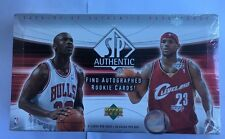 2004-05 Upper Deck SP Authentic Basketball NBA Factory Sealed Hobby Box