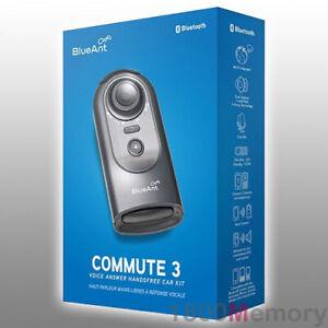 BlueAnt Commute 3 Bluetooth Voice Handsfree Car Speakerphone Text Messages