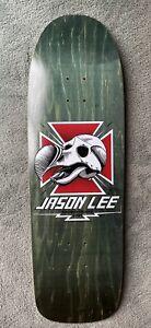 skateboard deck. Jason Lee